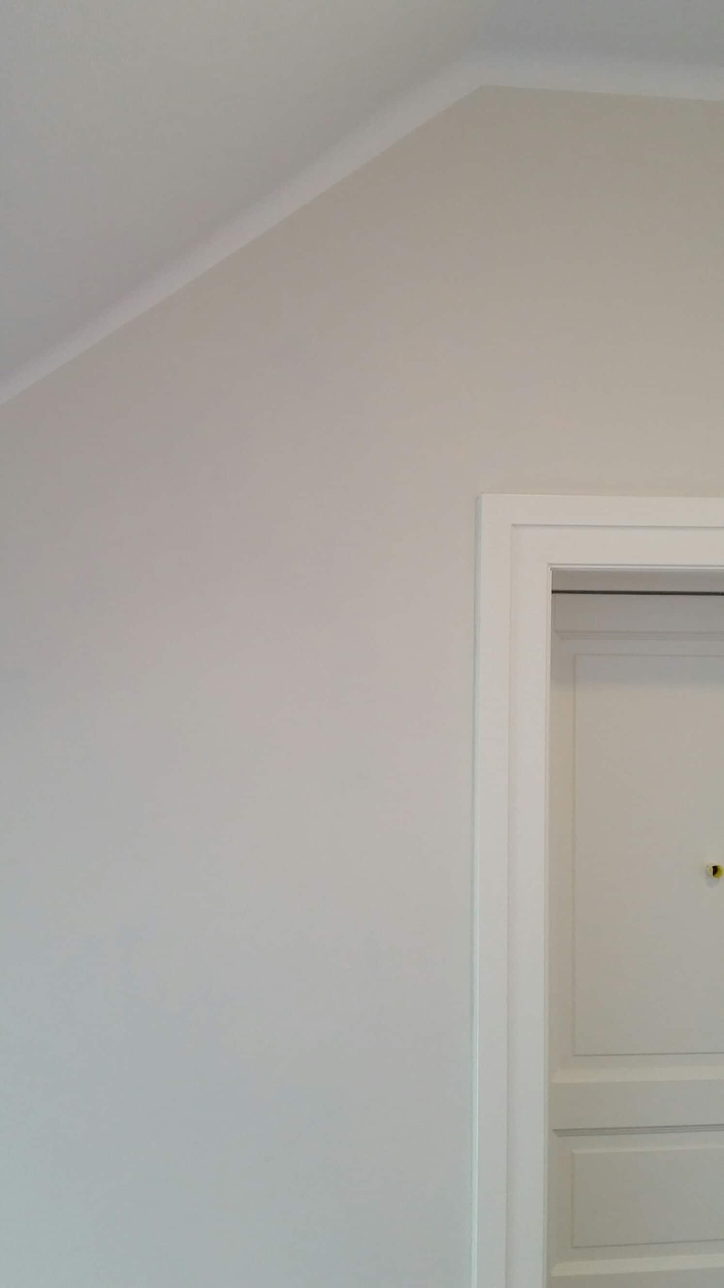 hvit vegg