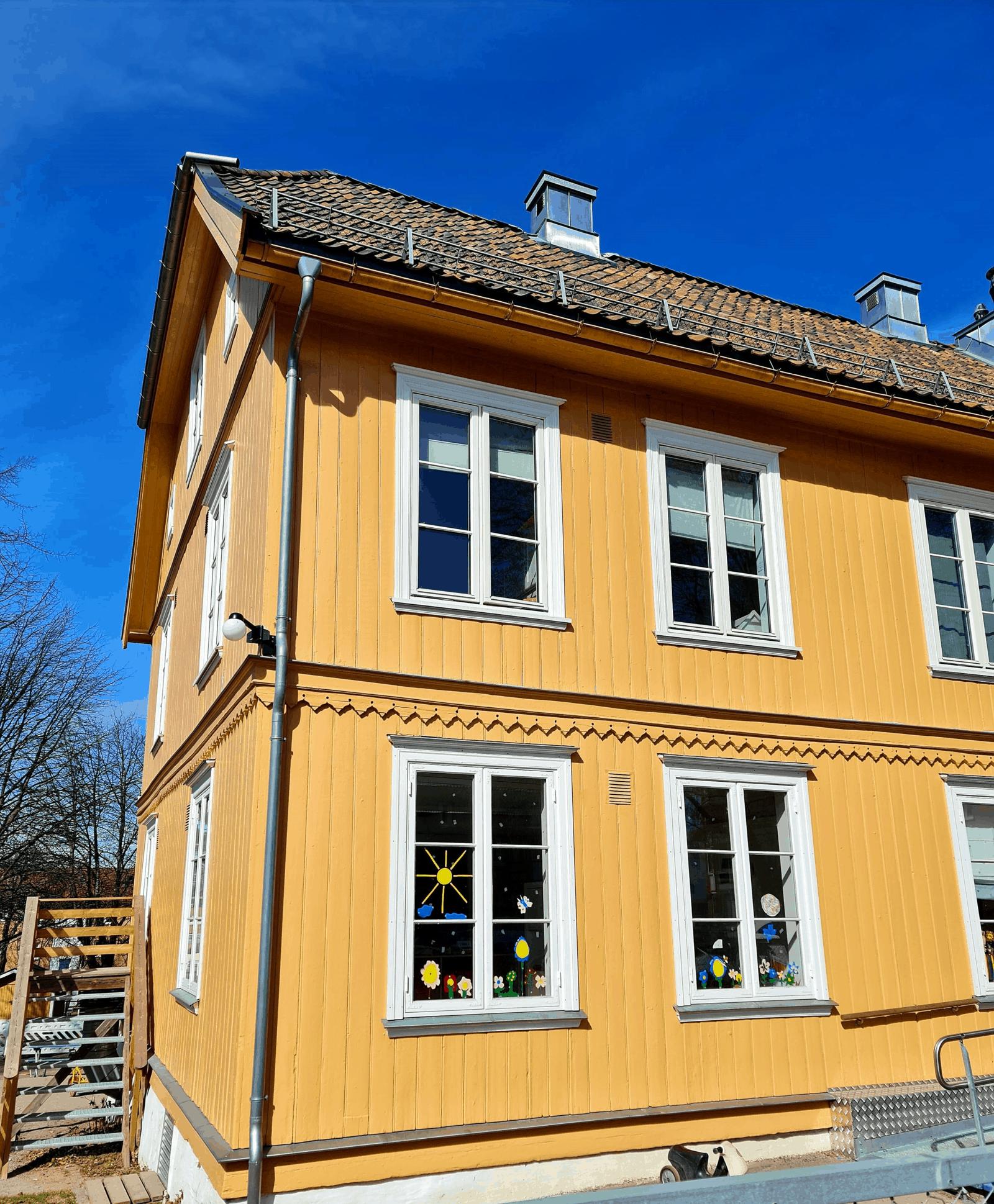 Barnehage bygning på Valle